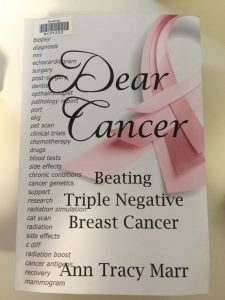 Cover image of the book Dear Cancer