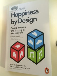 Cover image of the book Happiness by design