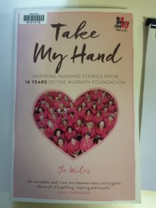 Cover image of the book Take my hand